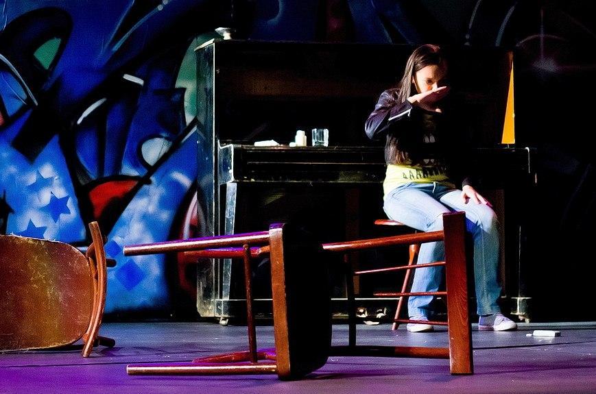 Воронежский театр юного зрителя, спектакль «Я буду жить!» (фото Антона Попова) — нунадоже.ру