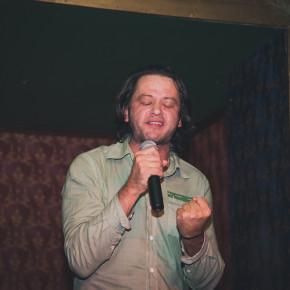 Лёха Никонов: лучший рок-поэт современности и его ресторанный сет